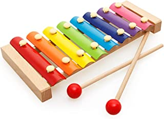 Trinkets & More Wooden Musical Instruments Piano Toy, Multicolour, 6 Months +, Pack Of 1