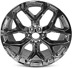 Road Ready Car Wheel For 2015-2018 GMC Sierra 1500 Yukon Chevrolet Suburban Tahoe 20 Inch 6 Lug Chrome Rim Fits R20 Tire - Exact OEM Replacement - Full-Size Spare