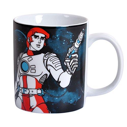 Captain Future - Science-Fiction - Capitaine Flam mug de café - présenté dans un coffret cadeau - multicolore - design original sous licence - LOGOSHIRT