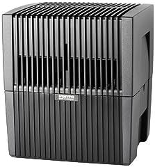 Venta luchtwasser LW25 Originele bevochtiger en luchtreiniger voor ruimten tot 40 m², antraciet*