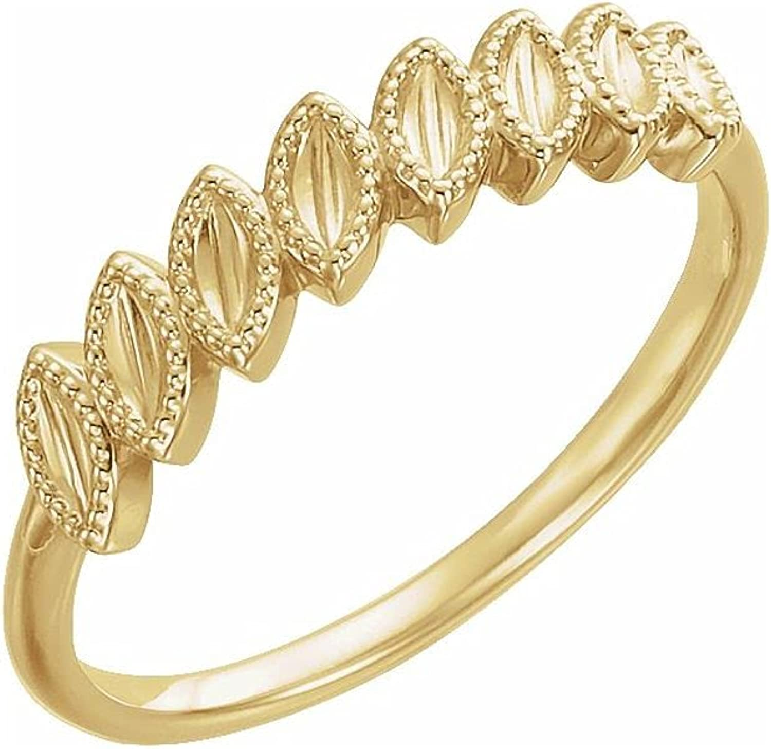 14k Yellow Gold Price reduction Ring Product Leaf