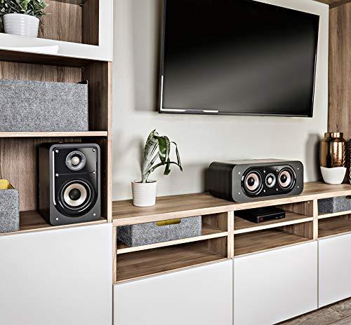 Polk Audio S15E Signature Polk Audio Signature S15S–Altavoces de estantería, Negro Negro