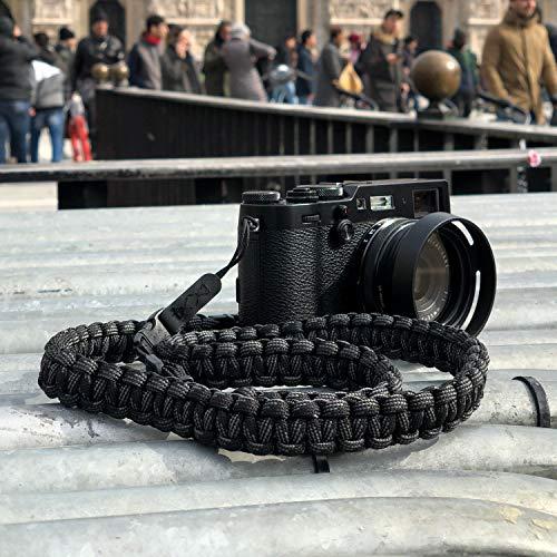 【国内正規品】tamrac カメラストラップ QRカメラストラップ Adjustable Paracord Shoulder Strap ブラック T3090-1915