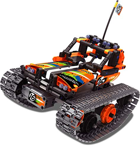 SERANO 3-in-1 STEM Remote Control Building kit - Tracked car/Robot/Tank for 6-12 Years Old boy Gift (392Pcs)