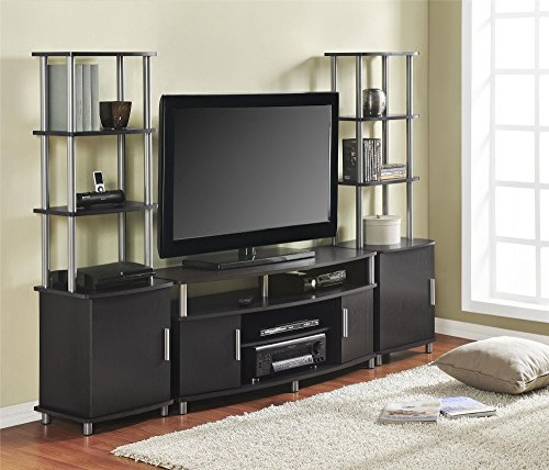 "Ameriwood Home Carson TV Stand for TVs up to 50"" Wide (Espresso)"