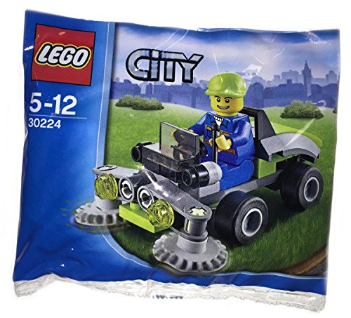 set for lawn mowers Lego City 30224 Ride on Lawn Mower