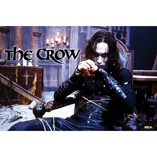 The Crow Brandon Lee Point Poster