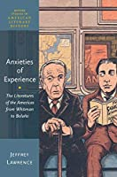 Anxieties of Experience: The Literatures of the Americas from Whitman to Bolaño (Oxford Studies in American Literary History)
