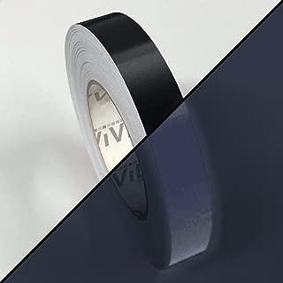 VViVID Black Reflective Air-Release Adhesive Vinyl Tape Roll (1