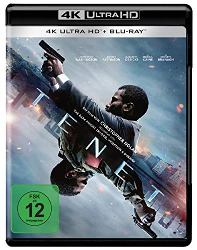 Tenet (4K Ultra HD) (+ Blu-ray 2D) (+ Bonus-Blu-ray)