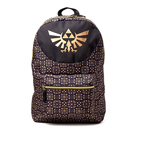 Difuzed ZELDA – SAC A DOS CREST GOLD Kinder-Rucksack, 28 cm, (or)