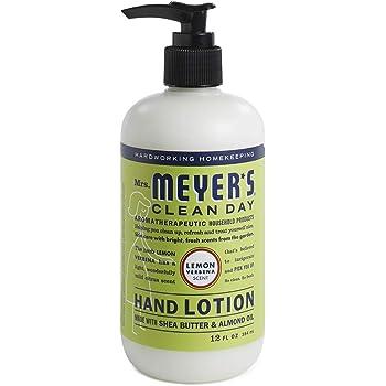 Mrs. Meyer's Clean Day Crema Hidratante de Manos, Sin Parabenos, Formulado con Aceites Esenciales, Verbena de Limón, 354 ml