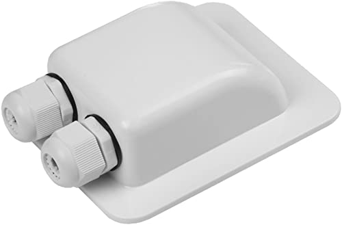 Link Solar Weatherproof ABS Solar Double Cable Entry Gland for All Cable Types 2mm² to 6mm² for Solar Project on Rv, ...