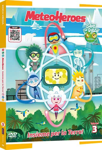 MeteoHeroes: Insieme Per La Terra! - Volume 3 (DVD con Sorpresa) (Limited Edition) (DVD)