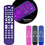 GE Backlit Universal Remote Control for Samsung, Vizio, LG, Sony, Sharp, Roku, Apple TV, RCA, Panasonic, Smart TV, Streaming Players, Blu-Ray, DVD, 4-Device, Purple, 45765