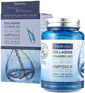 ファームステイ[韓国コスメFarm Stay]Collagen & Hyaluronic Acid All In One Ampoule ラーゲン&ヒアルロン酸オールインワンアンプル250ml [並行輸入品]