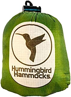 Hummingbird Hammocks(ハミングバードハンモック) シングル ハンモック 147g ツリーストラップ 42g 超軽量 コンパクト 高強度(パラシュート素材)簡単設営 【日本正規品】キャンプ アウトドア ウルトラライト UL ソロキャンプ 等で活躍