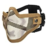 Generic Tactical Security Protect Hunting Metal Wire Half Face Mask Mesh Airsoft Mask