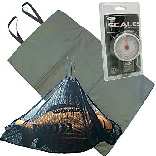 Unhooking Mat , Weigh Sling and Scales by NGT