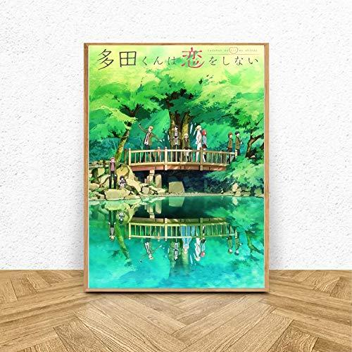 Puzzle 1000 Piezas Imágenes de Anime Movie Art en Juguetes y Juegos Gran Ocio vacacional, Juegos interactivos familiares50x75cm(20x30inch)