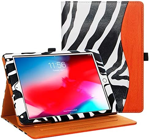CASIRENA Zebra Case for iPad 9 7 Air 2 Air 1 6th 5th Gen 9 7 inch Leather Cover for iPad 6 5 product image