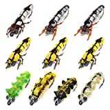 YZD Super Simulierte Fliege Trockenfliegen für Forellengrößen 6-12# (Simulierte Raupe 10 stück)