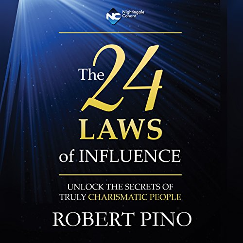 The 24 Laws of Influence audiobook cover art