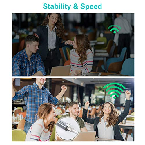 ABLEWE USB C zu Ethernet Adapter, Type C auf RJ45 Gigabit LAN Netzwerkadapter 1000 Mbps für Windows 10, 8.1, 8, 7, Vista, XP; Chromebook Pixel; Linux; MacBook Air; Mac OS 10.6 und höher
