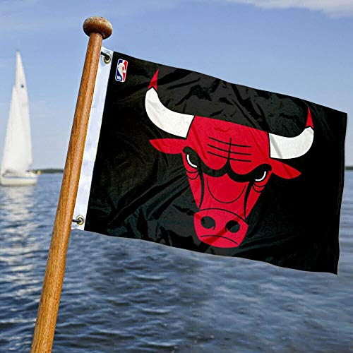 WinCraft Chicago Bulls Boat and Golf Cart Flag