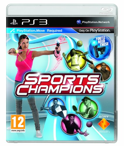 BUNDLE of RARE / COLLECTABLE Playstation 3 Games PS3 Set 4 Sports Champions