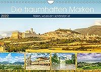 Die traumhaften Marken (Wandkalender 2022 DIN A4 quer): Italien, wo es am schoensten ist. (Monatskalender, 14 Seiten )