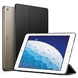 ESR iPad Air 3 ケース 2019 iPad Air 第三世代 10.5インチ カバー (iPad Pro 10.5、第1/2世代のiPad Air非対応)軽量 薄型 レザー オートスリープ機能 三つ折りスタンド スマートカバー 2019年発売の10.5インチ iPad 対応(ブラック)
