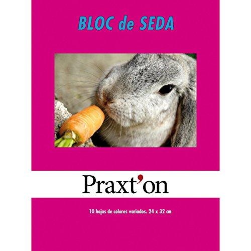 Papel Seda PRAXTON, Bloc x10 Hojas