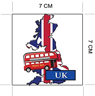 Envelopes London Oval Seal Labels Stickers for Gift Wrap Cards Tower Bridge