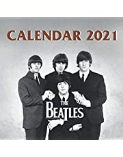 The Beatles Calendar 2021: Special Music Lovers Monthly Calendar - Wall Calendar