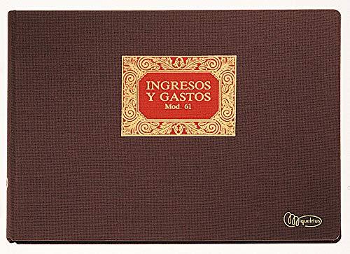 Miquelrius 5061 - Libro n. 61 ingresos y gastos