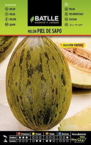 Semillas Hortícolas - Melón Piel de Sapo sel. Torpedo - Batlle