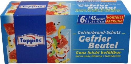 Toppits Gefrier Beutel 6L 45 Beutel