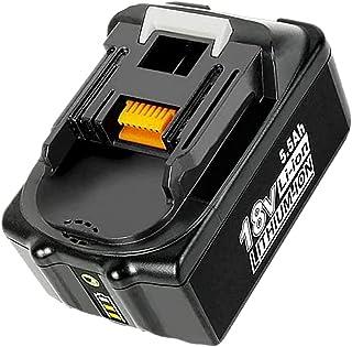 Sponsored Ad – HOMEDAS 18V 5.5Ah Li-ion Battery Replacement for Makita 18V Battery BL1860B BL1860 BL1850B BL1850 BL1840B B...