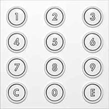 Ritto 1876420 deur-Digicode, zilver
