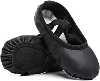 Stelle Zapatillas de Ballet para niñas, Zapatos de Ballet, Pisos para Baile/Gimnasia (cuentakilla/niño pequeño)