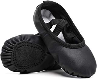 STELLE Girls Ballet Practice Shoes, Yoga Shoes for Dancing