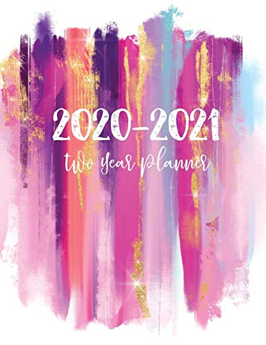 2020-2021 Two Year Planner: 24 Months Planner and Calendar | 2 Year Monthly Agenda Schedule Organizer | Business Planners with Holidays | Appointment ... Academic Agenda Schedule Organizer Logbook)