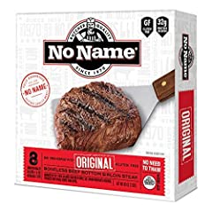 THE ORIGINAL NO NAME STEAKS- Since 1970, NO NAME Steaks carry a legacy of premier flavor that helped build our reputation as one of Minnesota's favorite steak purveyors. Today, we're more than proud to bring our 16-Pack of Sirloin Steaks that are han...
