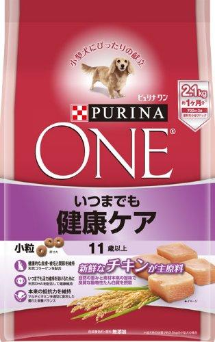スマートマットライト ピュリナ ワン シニア犬用(11歳以上) いつまでも健康ケア 小粒 チキン 2.1kg(700g×3袋) [ドッグフード]