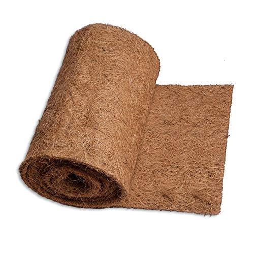 Estera de coco, Maceta de aislamiento Rollo de coco, protector de plantas Coconut cáscara fibras biodegradable, sin deslizamiento Hielo y nieve alfombras de nieve/alfombra de reptil