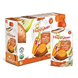 Happy Baby Organic Stage 3 Baby Food, Hearty Meals, Root Vegetables & Turkey with Quinoa, ...