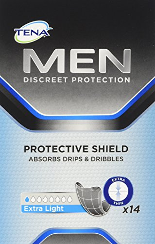 Tena Men Protective Shield Extra Light Inkontinenzeinlagen, 1 x 14 Stück