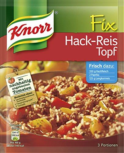 Knorr Fix Hack-Reis Topf 3 Portionen