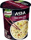 Knorr Asia Snack Tom Kha Gai Noodles 1 Portion (8 x 65 g) (Lebensmittel & Getränke)